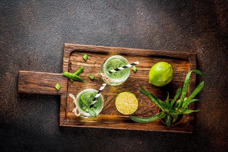Jak poprawić smak aloesu do picia?